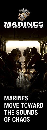 ☆ Marines The Few. The Proud. Marines Move Toward The Sounds Of Chaos ☆