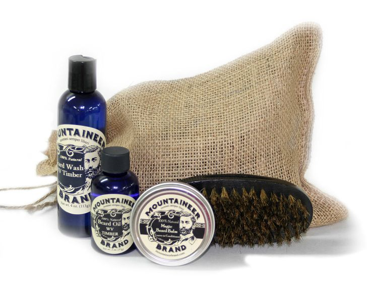 Mountaineer Brand 100 Natural Complete Beard