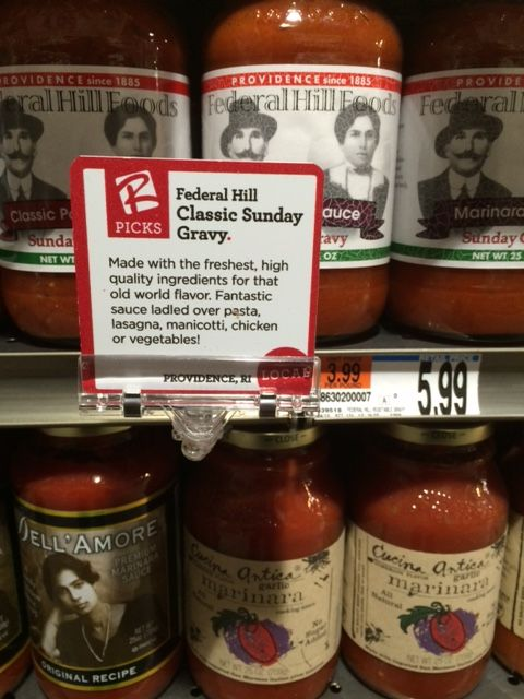 Federal Hill Sauce at Roche Brothers