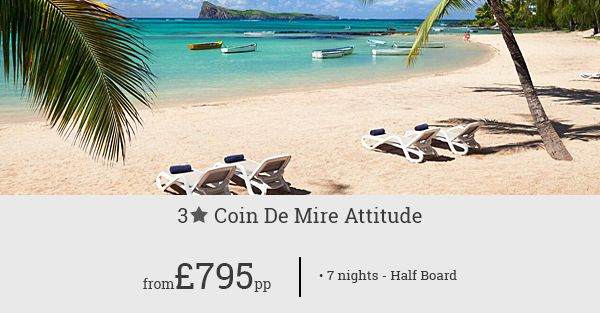 Experience the absolute charm of Mauritius for less at Coin De Mire Attitude! Unbelievable deal for the resort is up for grabs!