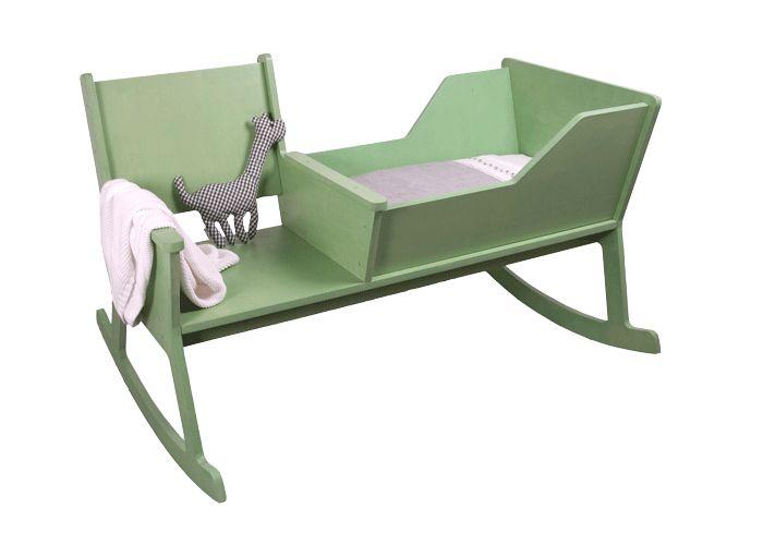 Wieg en schommelstoel - ontwerpduo.nl