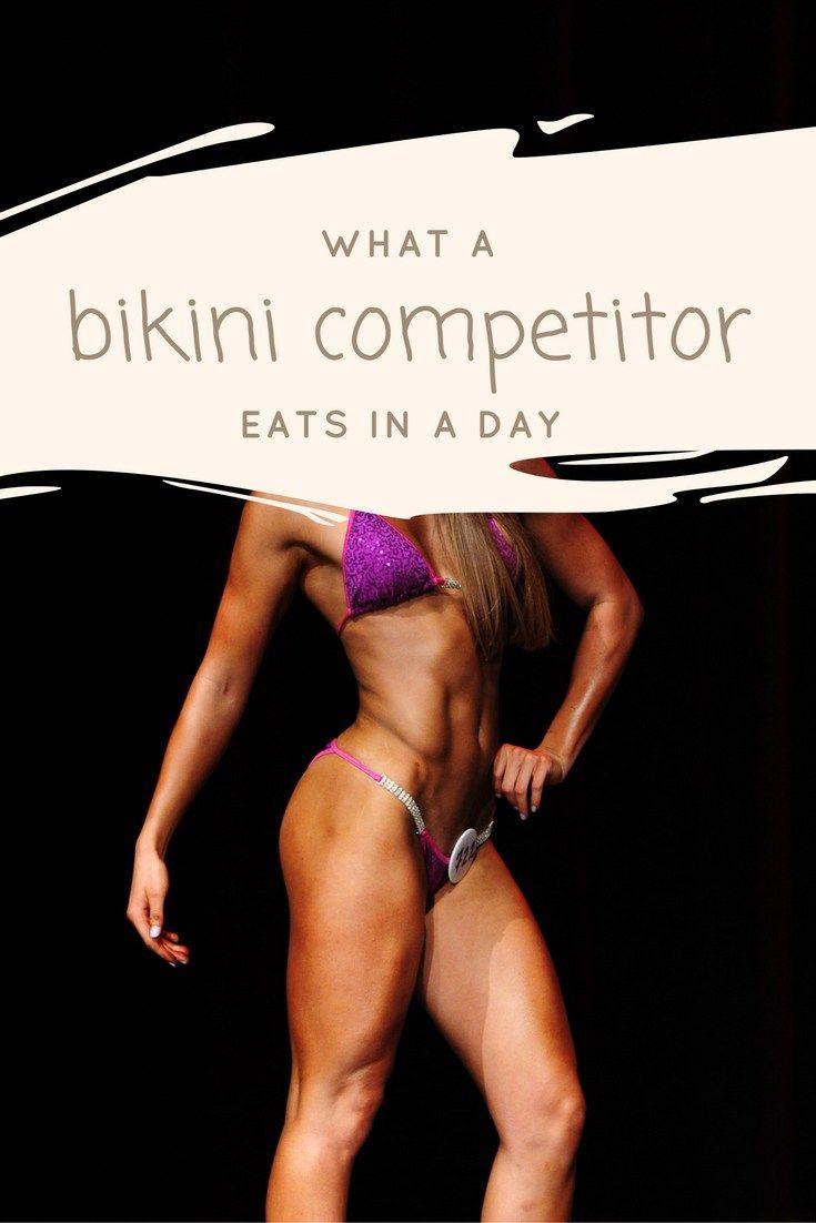 what a bikini competitor eats in a day | beyou2befit