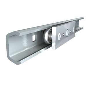 Linear Guide Roller Bearing Sliding Rail Door Consoles