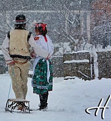 Winter in Bucovina, RO...