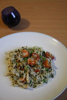 Oriental Chicken & Wild Rice Summer Salad