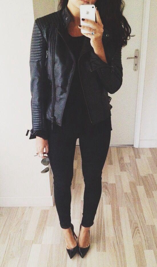 Fall Fashion: Black on Black! #HappyGirlsAreThePrettiest
