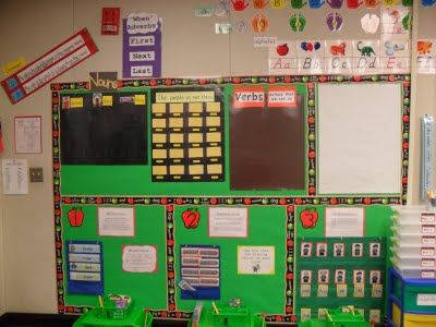 great classroom +amazing interactive bulletin boards and centers: Grammar Wall, Classroom Stuff, Back To Schools, Classroom Decor, Organizations Ideas, Schools Ideas, Classroom Organizations, Classroom Sets, Classroom Ideas
