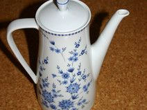 Kaffeekanne Seltmann Weiden Bayrisch blau Doris