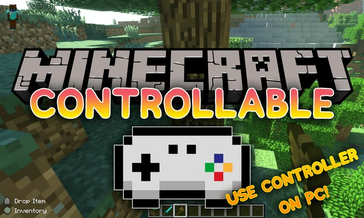 There Is A Lack Of Support For The Controller For The Java Edition Of Minecraft This Is Where Mrcrayfishs Controllable Mod 1 15 1 Minecraft Mods Minecraft Mod