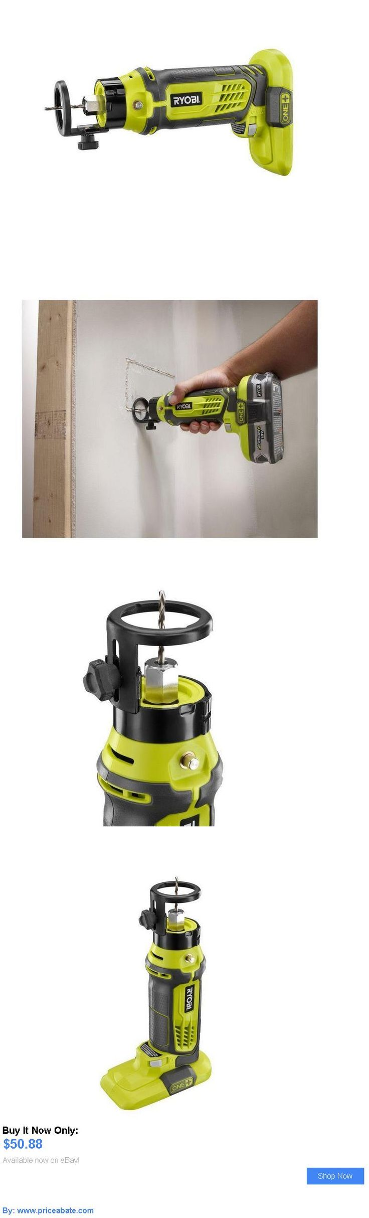 tools: Ryobi One  18 Volt Li Lithium Ion Speed Saw Rotary Cutter Dremel Tool BUY IT NOW ONLY: $50.88 #priceabatetools OR #priceabate
