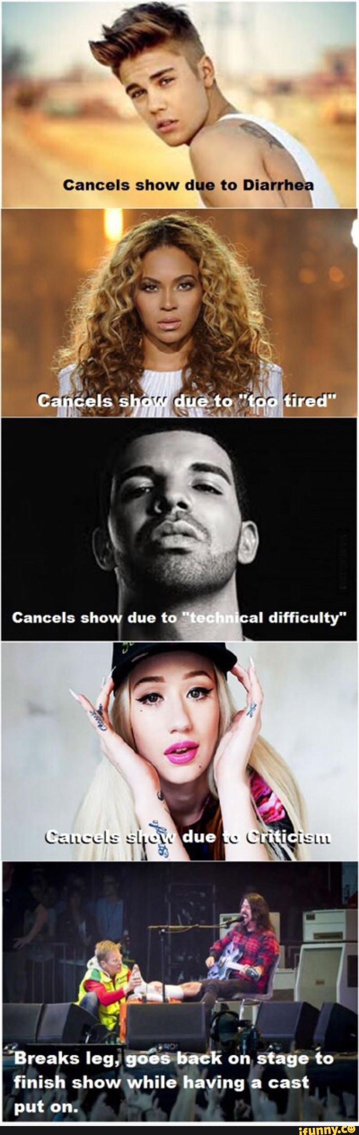 The difference between pop stars and artists