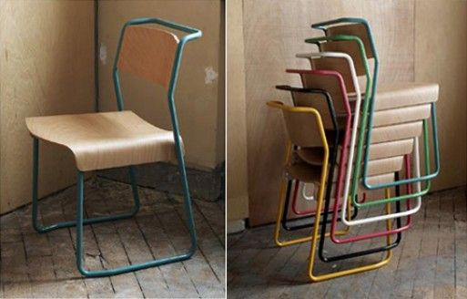 Canteen Utility chair — Dining and Side Chairs -- Better Living Through Design