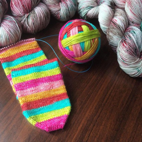 32 best Self-striping Sock Yarns images on Pinterest | Sock, Socks ...