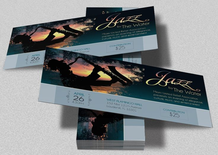 The 25+ best Concert ticket template ideas on Pinterest Ticket - concert ticket invitations