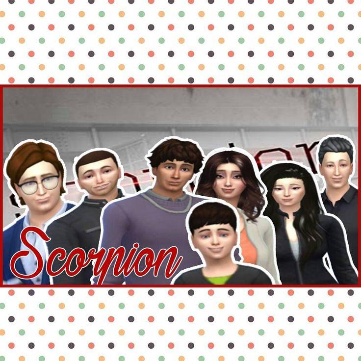 Personagens da série Scorpion...Link do vídeo para quem quiser acompanhar o processo de criação https://youtu.be/r8fGLj9Dzek