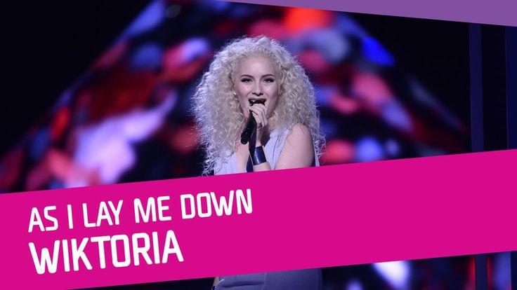 "Se Wiktoria sjunga ""As I Lay Me Down"" i Melodifestivalen 2017."