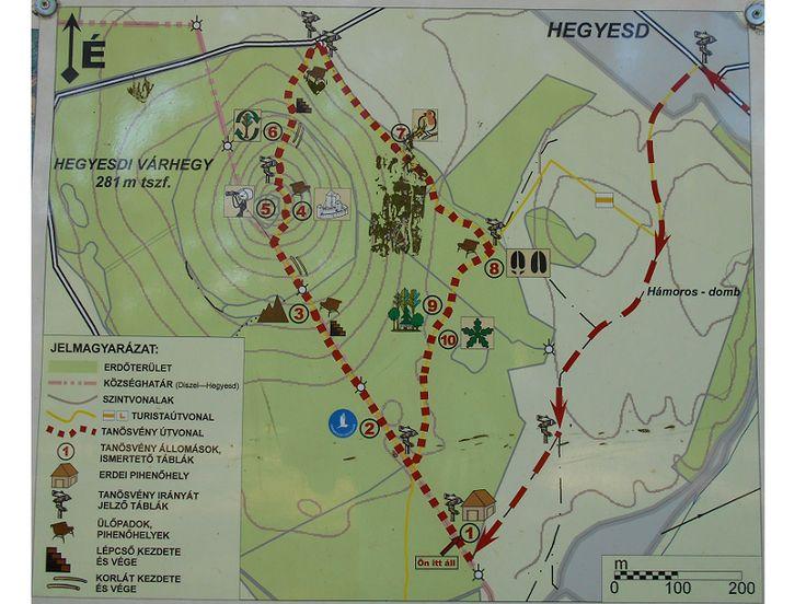 Hegyesdi várhegy tanösvény (Hegyesd közelében 0.65 km) http://www.turabazis.hu/latnivalok_ismerteto_1975 #latnivalo #hegyesd #turabazis #hungary #magyarorszag #travel #tura #turista #kirandulas