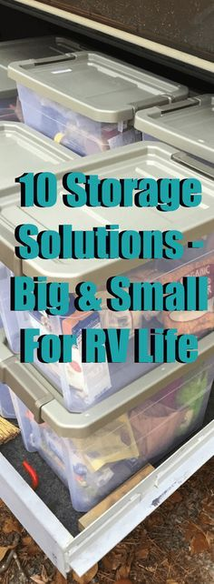 On an RV, not only is space important, but keeping your spaces organized and easy to maintain is critical to housekeeping, repairs and well…sanity. Homeschooling manipulatives, crafting supplies, Lego bricks, fuses, odd little RV fittings like day/night shade handles and button covers, and your average, run-of-the-mill fasteners like nuts and bolts... #RVLife #organization #storage