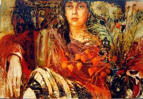 Helen Illichova 1958 ~ Ukrainian painter | Art and Dream