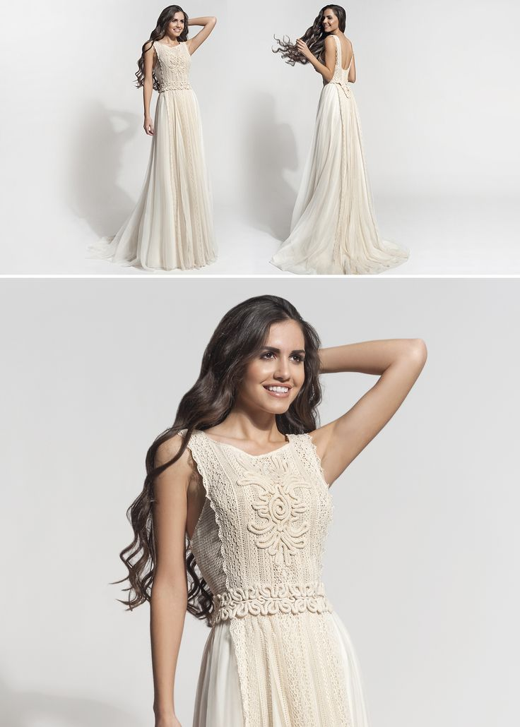 "Mod ""Rhea"" vintage wedding dress, boho wedding dress, VG Ζolotas, Atelier Zolotas, Handmade wedding dress, women fashion, bridal fashion, bride"