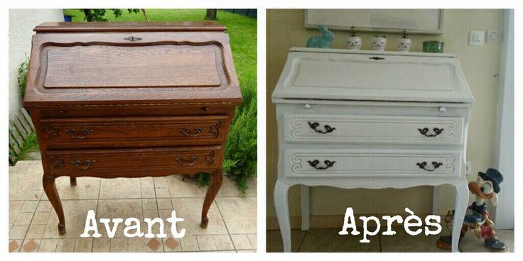 Avant / Après : Le secrétaire