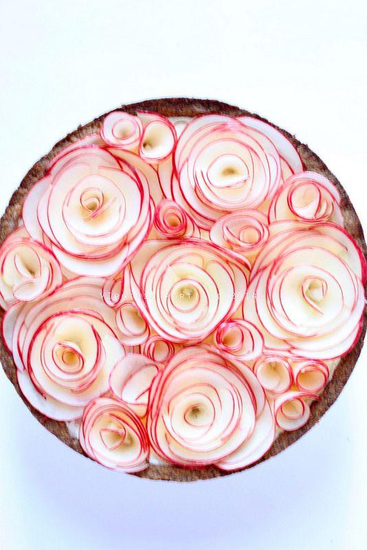 """crostata """"di rose"""""""
