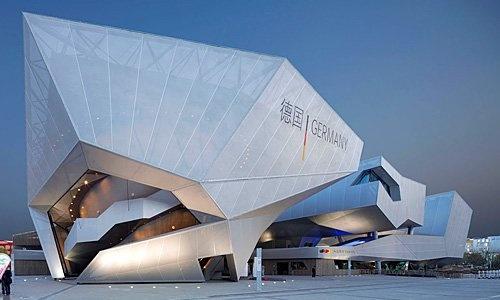 Futuristic Architecture, SCHMIDHUBER's Shangai Expo castle