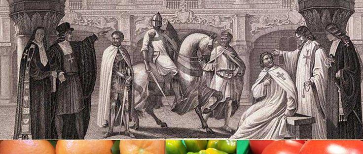 Tutti i segreti della dieta dei Templari per vivere sani e a lungo.