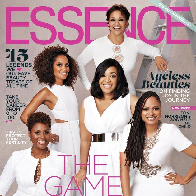 Shonda Rhimes, Ava DuVernay, Debbie Allen, Mara Brock Akil and Issa Rae Cover ESSENCE's 'Game Changers' Issue from essence.com