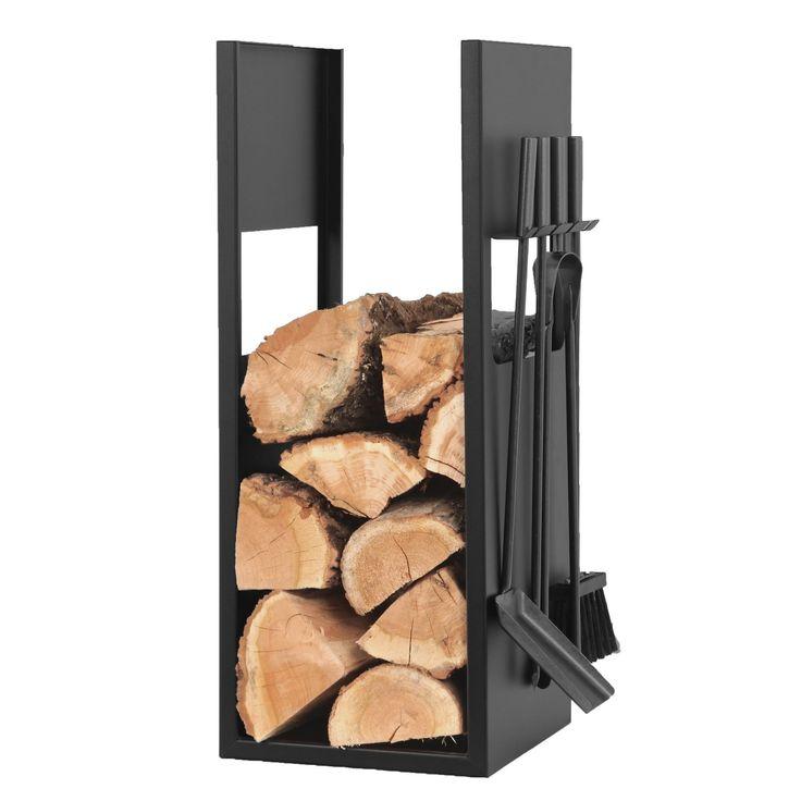 NOIR - Accessoires de cheminée acier - Le Marquier