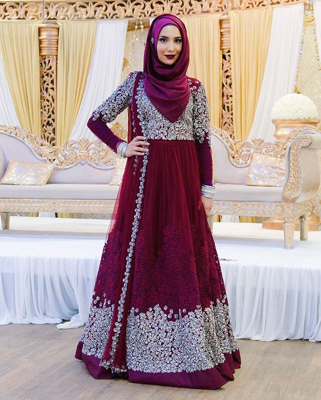 Desi hijabi  outfit by @bibildn