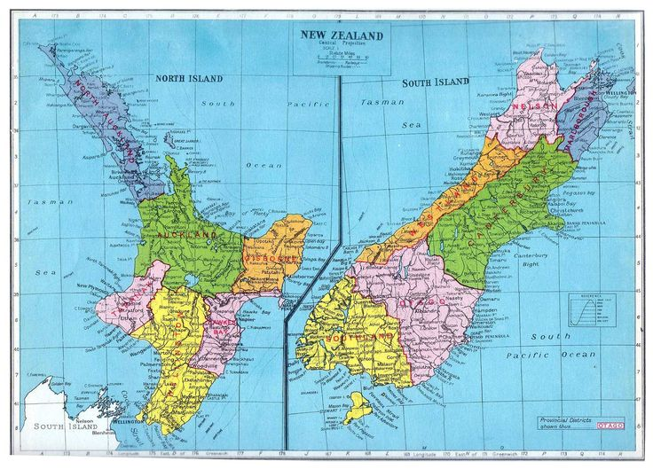 new zealand south island map pdf