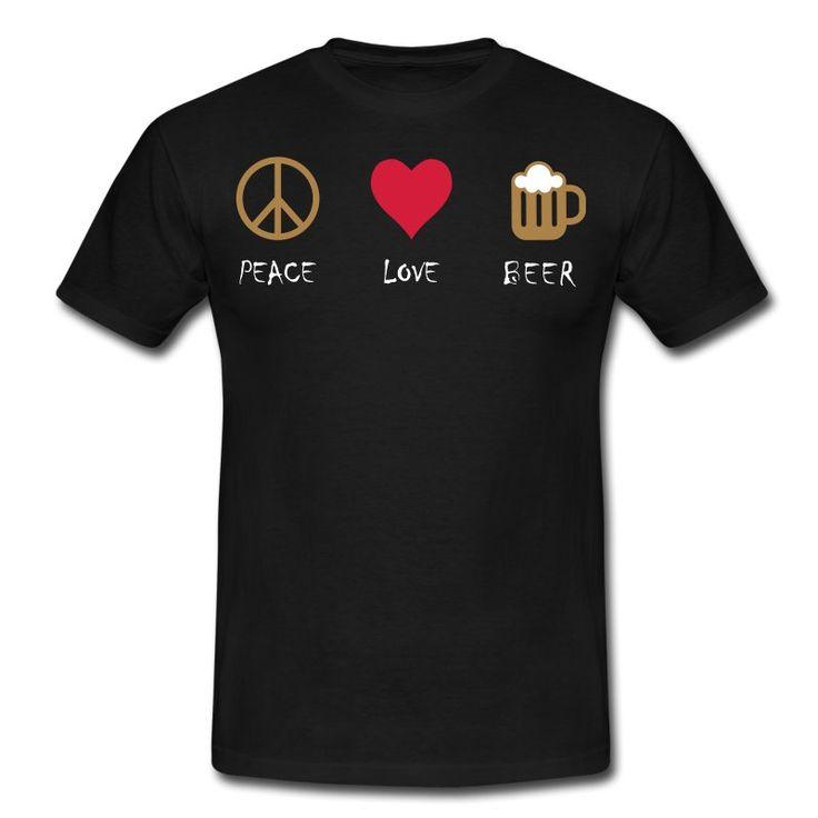 peace love beer