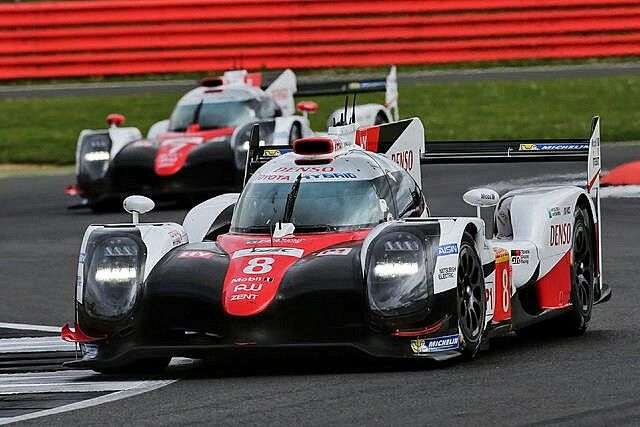 2017 Le Mans 24 - Toyota TS050.  Based on qualifying times, Toyota hopes to have an advantage of 2 seconds per lap on Porsche in the 24 hr race. #ToyotaGazoo