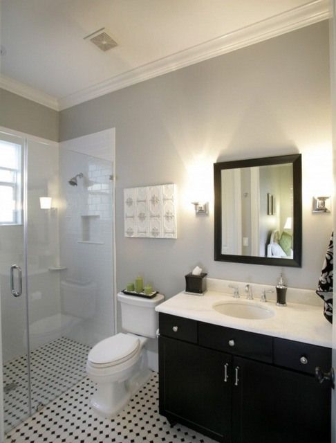 Benjamin Moore Penthouse Painted Bathroom Google Search