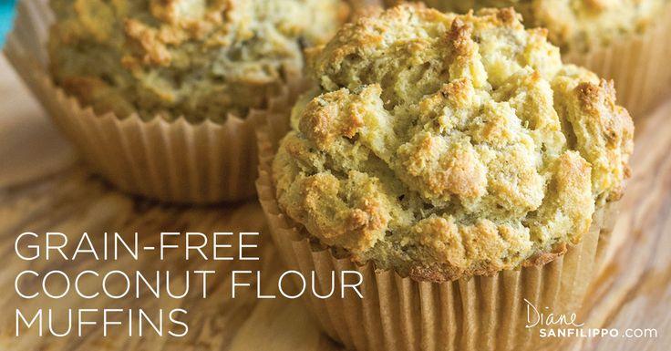Easy Recipe: Grain-Free Coconut Flour Muffins