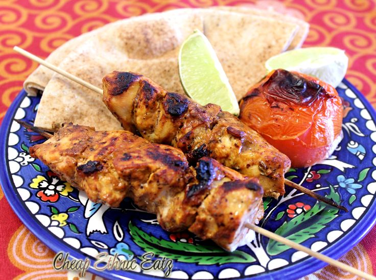Lebanese Shish Taouk- ditch the dairy!