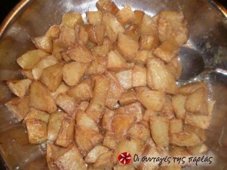 Πατάτες αντιναχτές με μουστάρδα