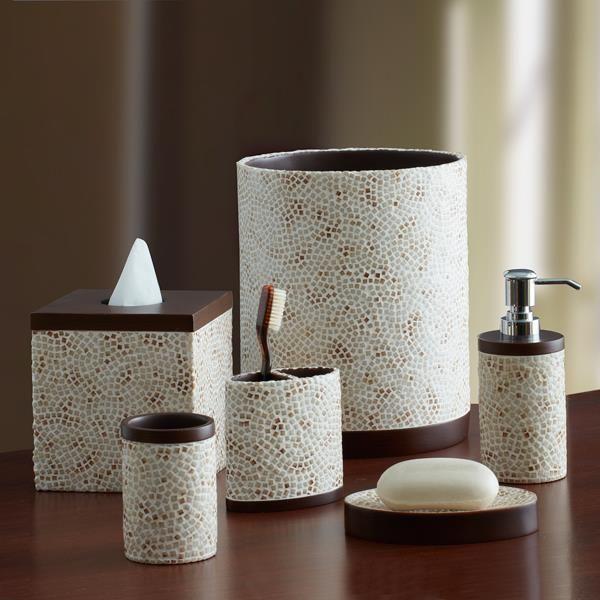 Bathroom Accessories Sets Croscill Croscill Laviano Aqua Bath - Croscill bathroom sets