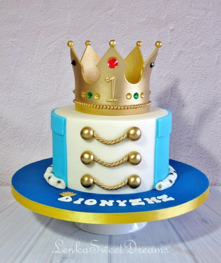 Prince cake. - Cake by LenkaSweetDreams