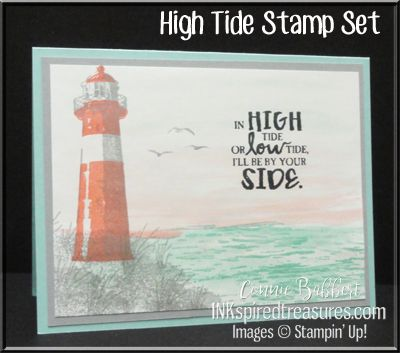 High Tide, , Lighthouse, water, #stampinup, #inkspiredtreasures, created by Connie Babbert, www.inkspiredtreasures.com