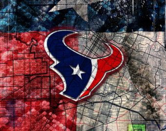 Houston Texans Over Texas Flag, Houston Texans, Texas, NFL, Red White and Blue - Edit Listing - Etsy