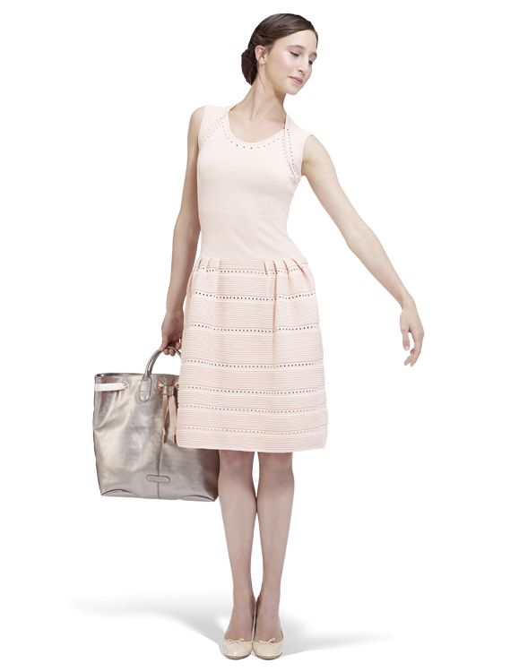 Dress Lily Ballet shoes pink by Repetto - Collection spring-summer 2014