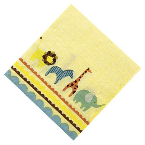 Paper Tableware - Animal Parade Party Napkins by Beau-coup (($))