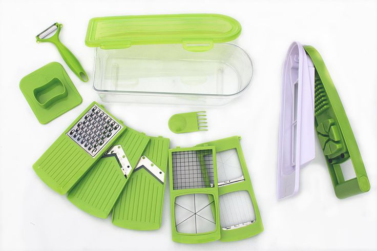 part of THE GREAT CHEF COOKING KIT - Includes: 1 apple and chips cutter blade assembly, 1 multi-functional egg cutter assembly, 1 5mm-strips slicer, 1 vegetable grater, 1 transparent collector (capacity 2,000 ml), 1 cover for holding a fresh collection container (all pieces dishwasher-safe) - by http://www.amazon.de/gp/aag/main?seller=A1QPL980FAHTMT