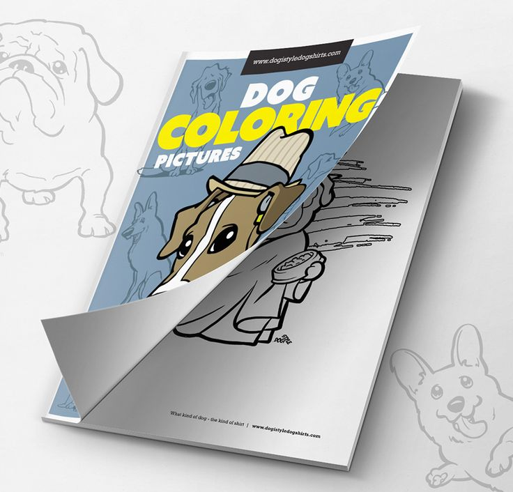 Free dog coloring pages... print and color :)