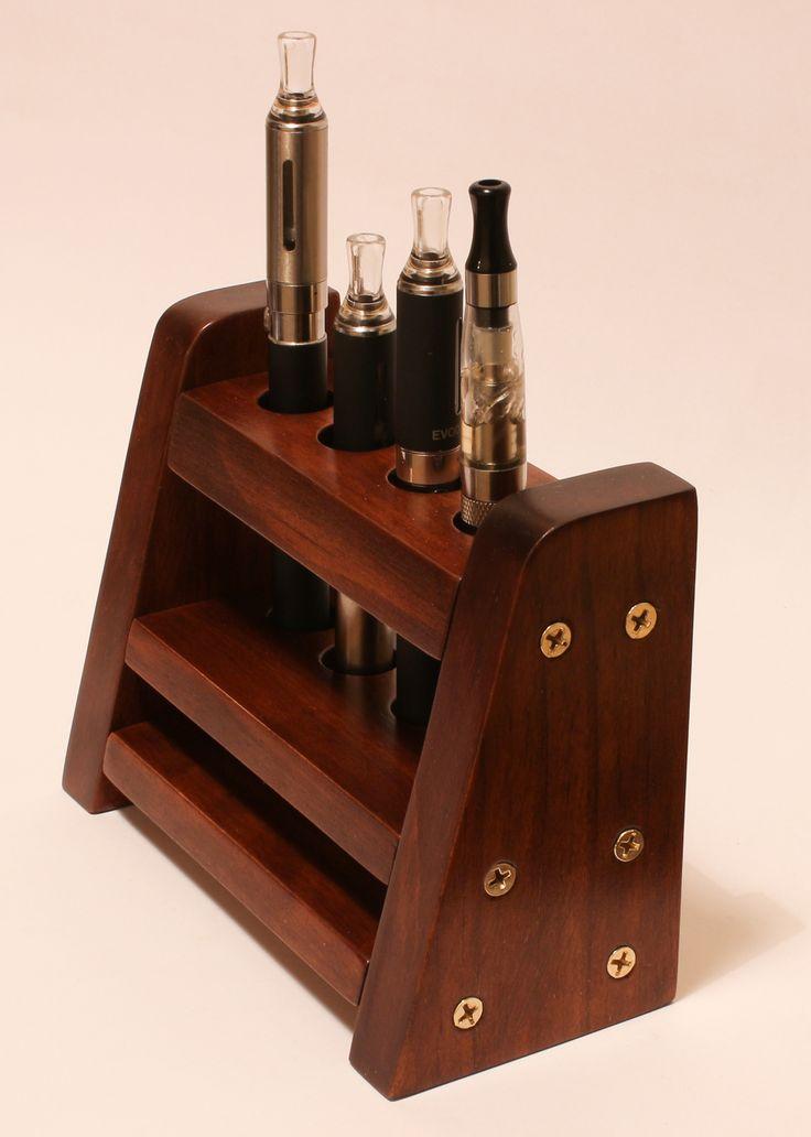 Solid Wood E-cig Holder