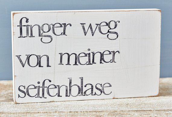 "Textwand ""Seifenblase"" aus Holz – Bastelarbeiten"