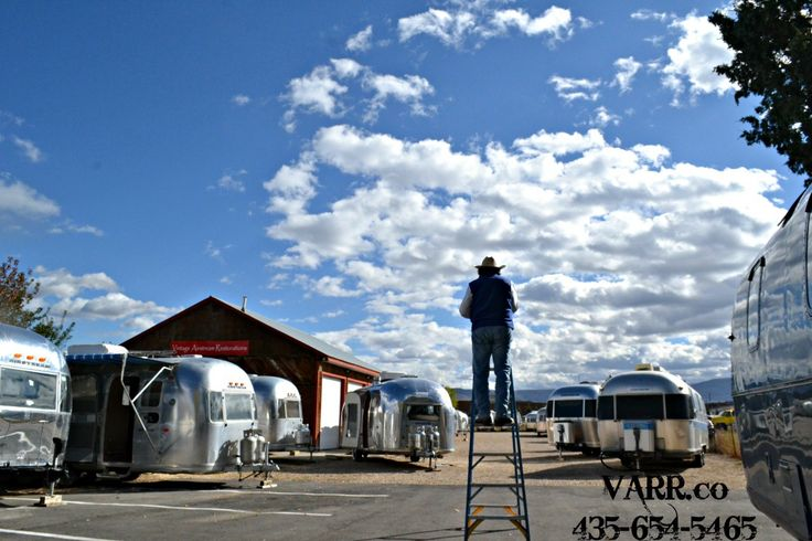 Vintage Airstream Restorations and Repairs   Specializing in Polishing and Customization