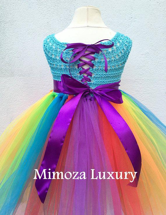 My Little Pony Birthday Tutu Dress Rainbow tutu dress my